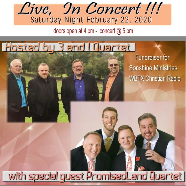 Bandsintown The Promisedland Quartet Tickets The Potter S House Worship Center Eventstarttime