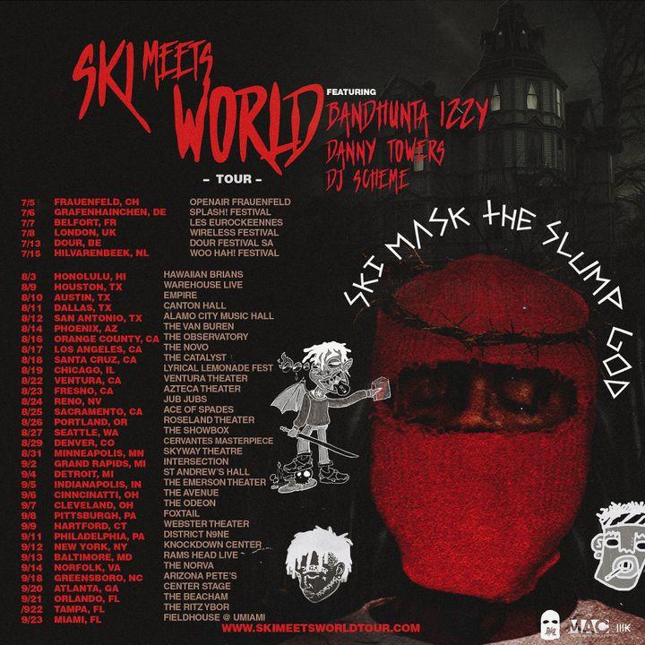 SKI Mask The Slump God Tour Dates 2019   Concert Tickets  a90b56d60