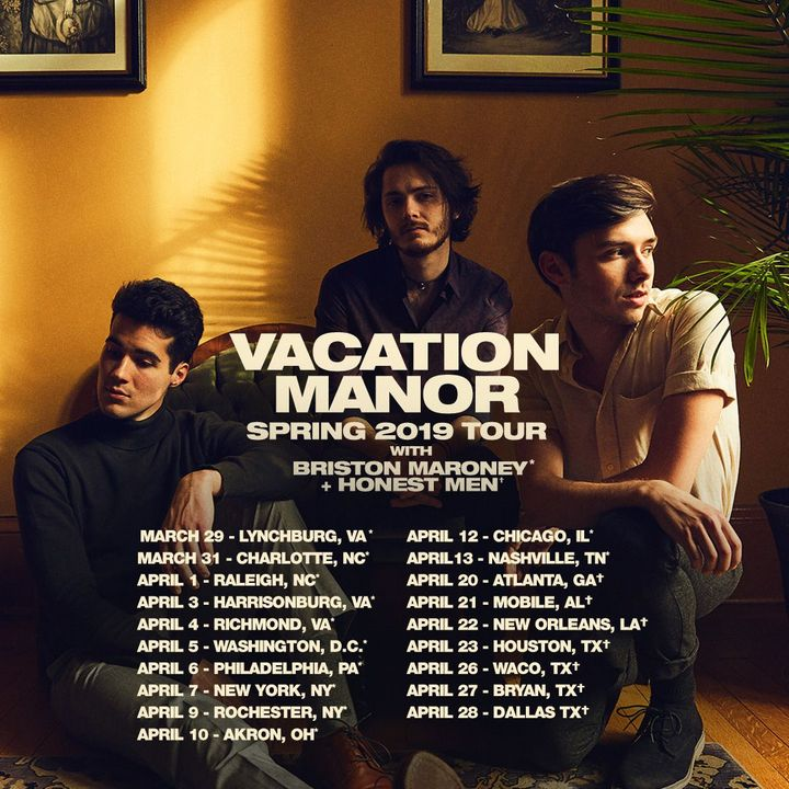Vacation Manor Tour Dates 2019 & Concert Tickets | Bandsintown