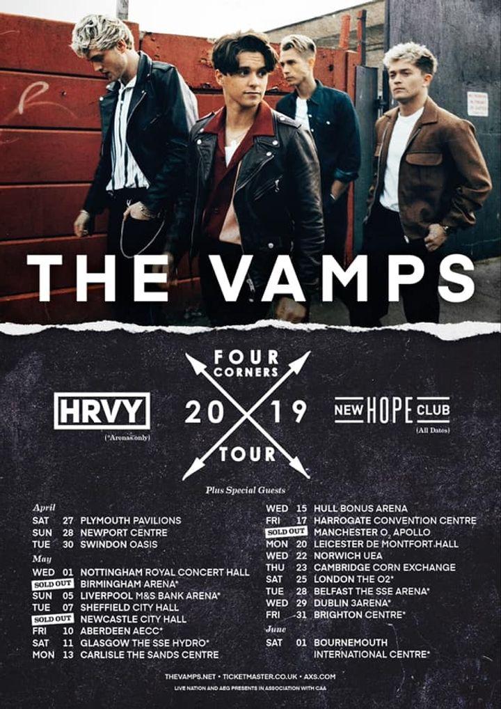 The Vamps Tour Dates 2019 & Concert Tickets   Bandsintown