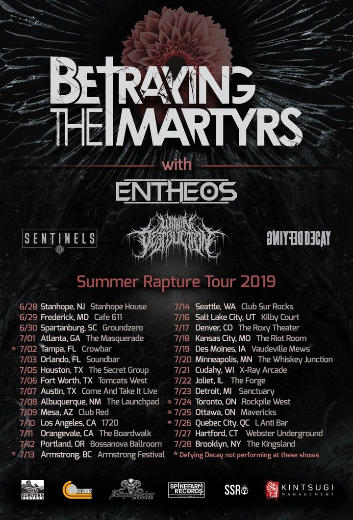 BETRAYING THE MARTYRS Tour Dates 2019 & Concert Tickets | Bandsintown