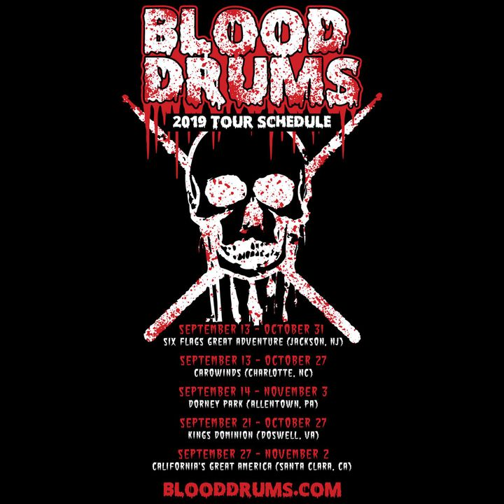 Blood Drums Tour Dates 2019 & Concert Tickets | Bandsintown