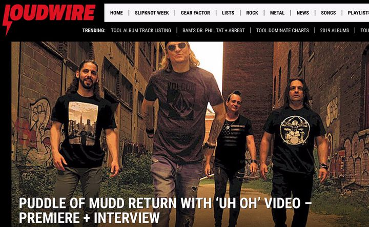 Puddle of Mudd Tour Dates 2019 & Concert Tickets | Bandsintown