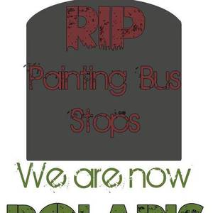 Painting Bus Stops