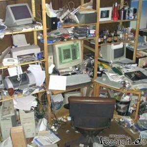 Warum soll ich mein Zimmer aufräumen wenn die ganze Welt ein ...