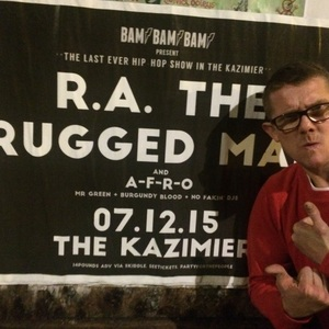 R A The Rugged Man At Liverpool United Kingdom In Kazimier 2016