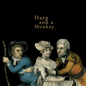 Harp and a monkey