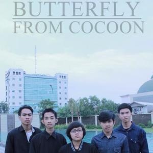 butterfly from cocoon