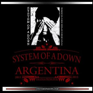 SYSTEM OF A DOWN - ARGENTINA