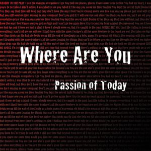 Passion Of Today