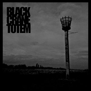 BLACK CRANE TOTEM