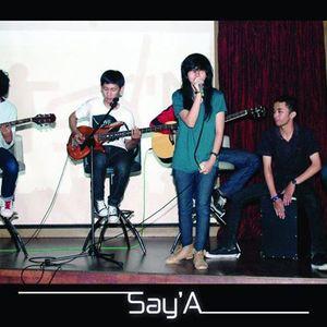 Say 'A