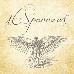16 sparrows