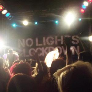NO LIGHTS AT LOCKDOWN