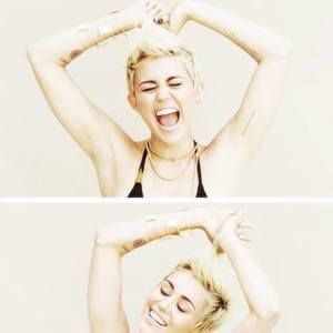 We love Miley Cyrus