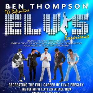 Ben Thompson  Elvis Tribute Artist