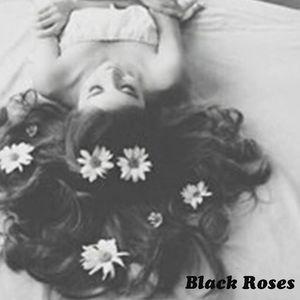 4 Black Roses