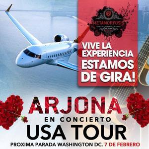 Arjona Metamorfosis US Tour