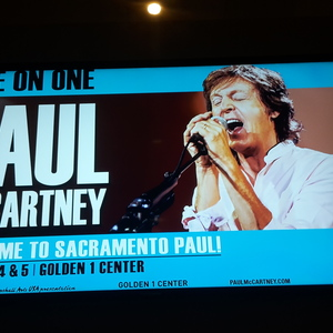 Paul McCartney At Sacramento CA In Golden 1 Center 2016