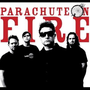 Parachute on Fire