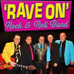 'RAVE ON' Rock 'n' Roll Band, Sydney