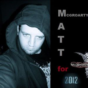 Matt McGroarty For Vocalist Of Killswitch Engage '12