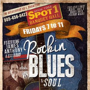Rockabilly BLUES & SOUL at SPOT 1 GRILL & MUSIC HALL