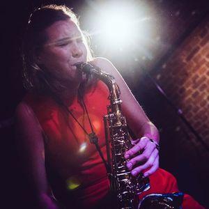 Florine on the Sax