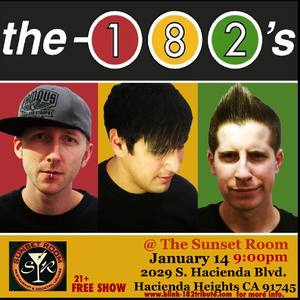 The 182's a tribute to Blink 182