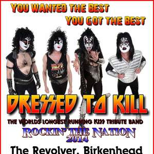 DRESSED TO KILL - The KISS tribute band