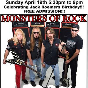 "Monsters of Rock ""Orange County, CA"""