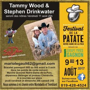Tammy Wood & Stephen Drinkwater