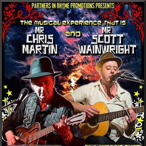 Chris Martin and Scott Wainwright