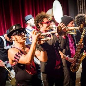 Pink Puffers Brass Band