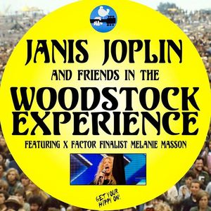 Janis Joplin and friends in the Woodstock Experience