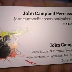 John Campbell Percussion