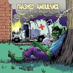 Trashed Ambulance