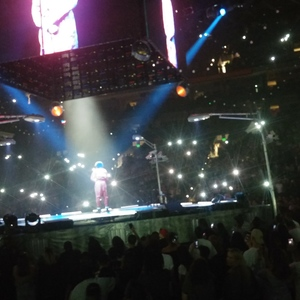 J.Cole At Oakland, CA In Oracle Arena 2017