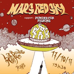 MARS RED SKY