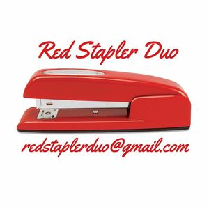 Red Stapler Duo