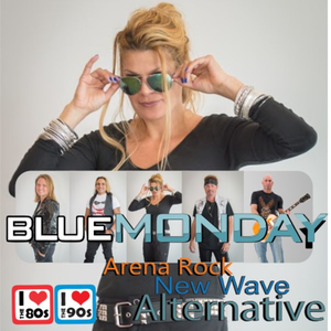 Blue Monday Rocks