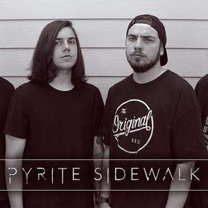 Pyrite sidewalk