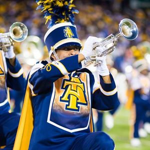Blue And Gold Marching Machine