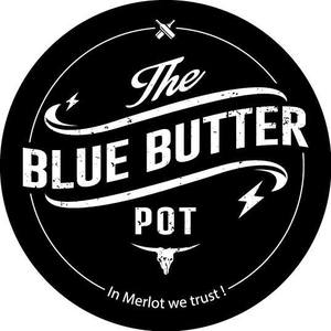 The Blue Butter Pot