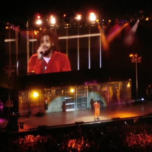 J.Cole At London, United Kingdom In The O2 Arena 2017
