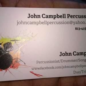 John Campbell Percussion