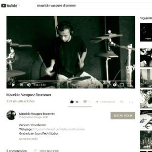 Mauricio Vasquez Drummer