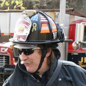 Mean Old Fireman