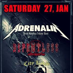 Adrenalin - Hellenic Metallica Tribute Band