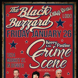 Kerry Pastine & The Crime Scene